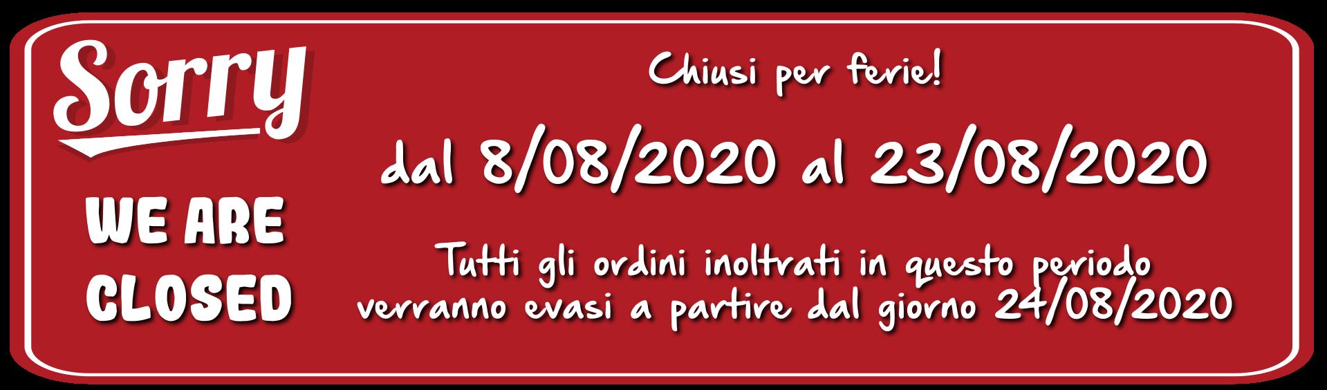 chiusura 2020
